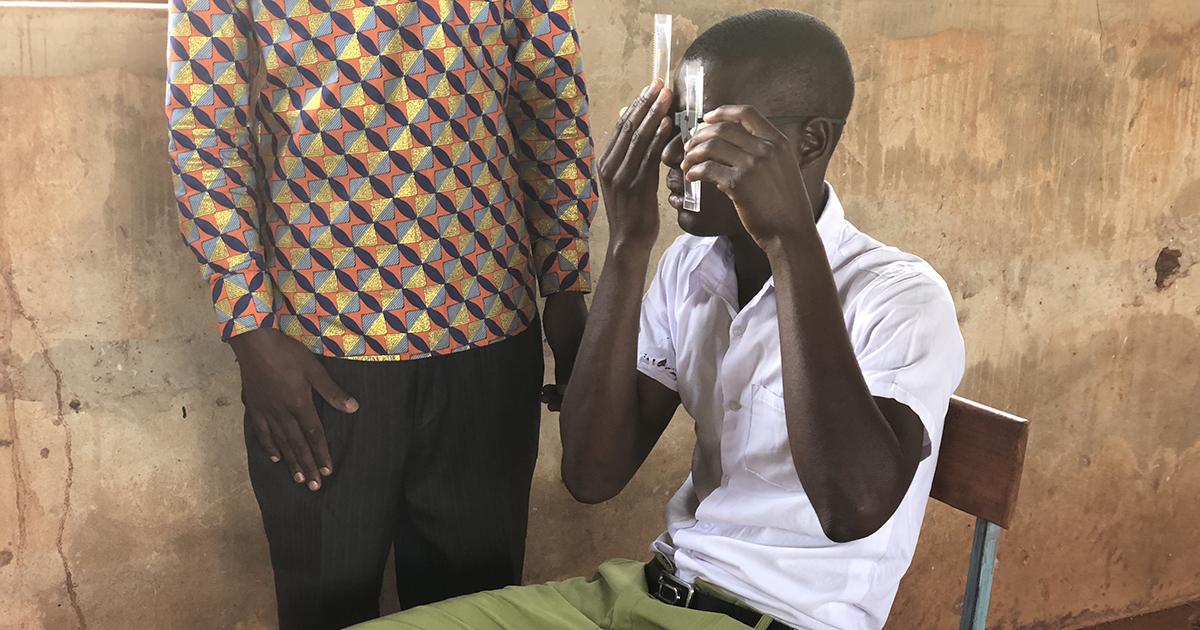 Tanzanian eye screening with the USee
