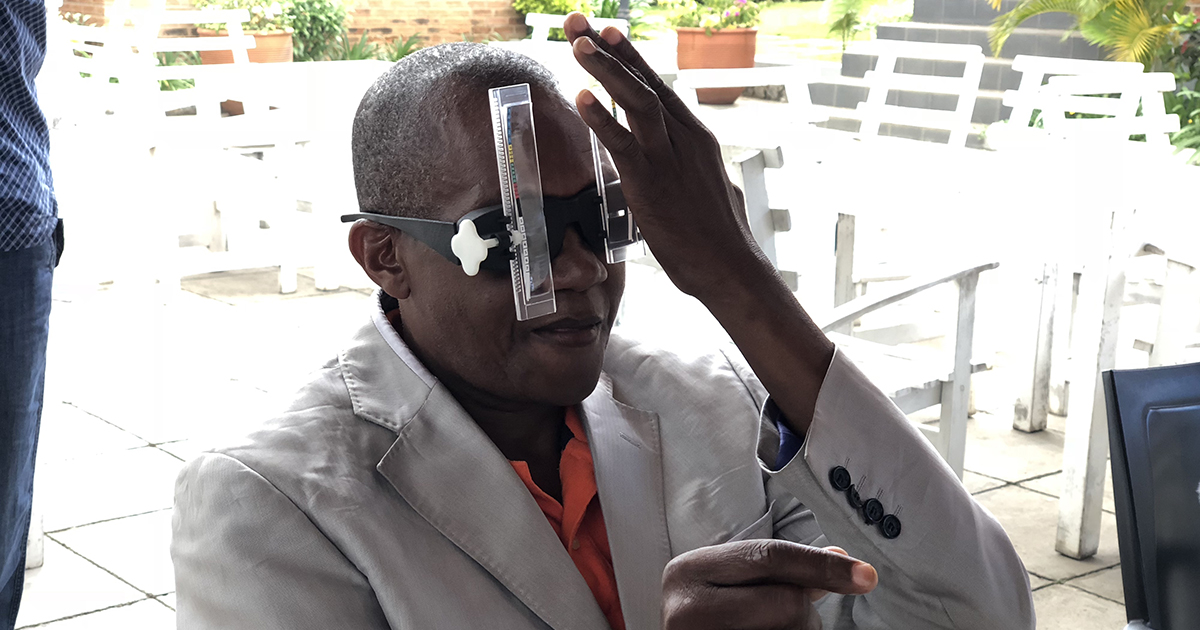 Eye screening in Tanzania